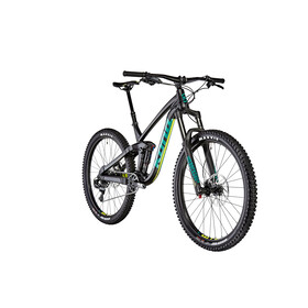 "Kona Process 153 27,5"" matt black/gloss emerald green/yellow"